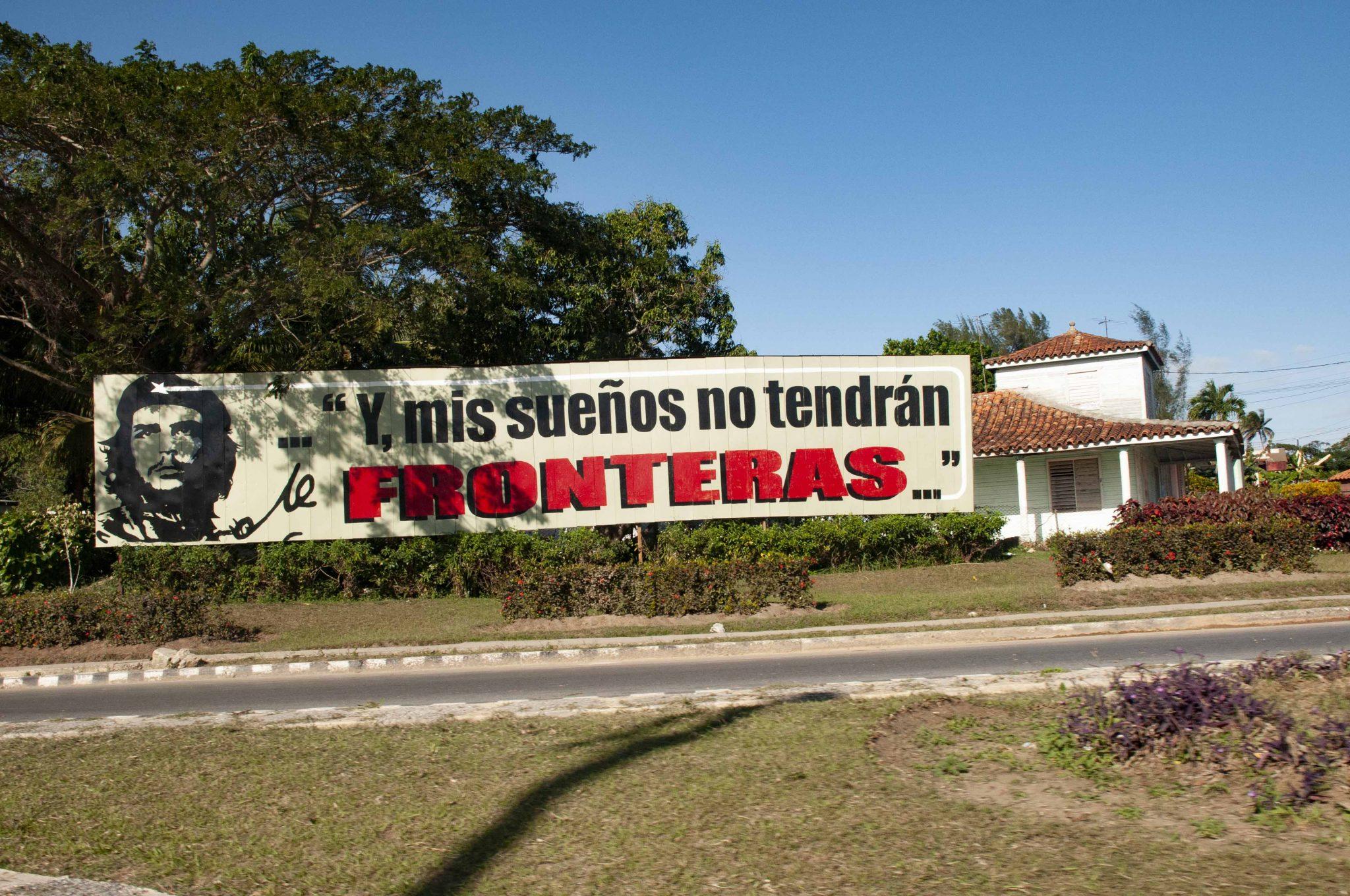 Mural del Che en Cuba